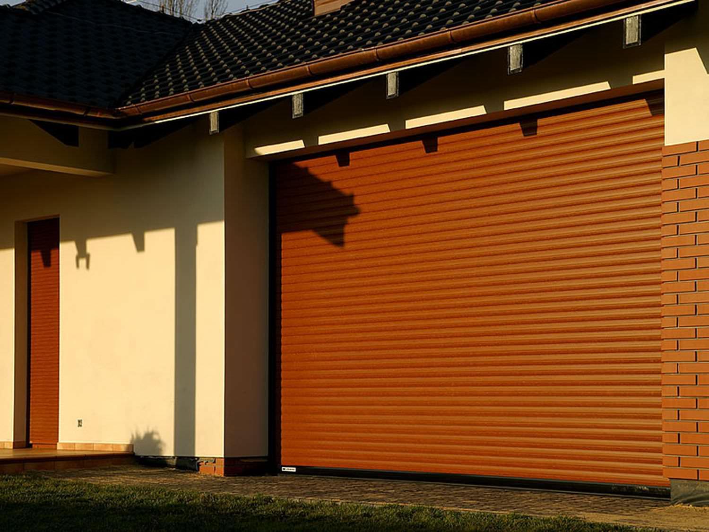 гаражные роллетные ворота в спб